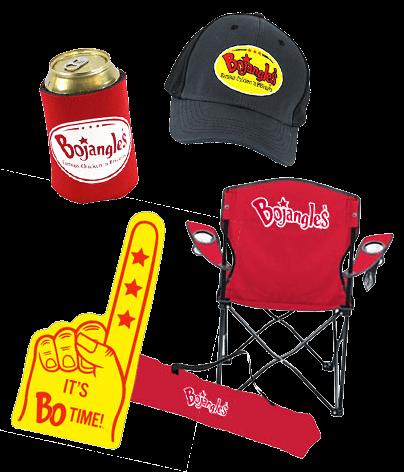 Bojangles' Merchandise